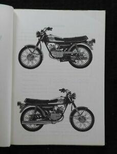 1974 1975 Yamaha 125cc Rd125b Motorcycle Parts Catalog Manual Very Nice Shape Ebay