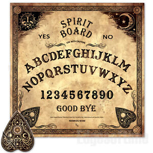 Details about TRADITIONAL SPIRIT OUIJA BOARD WICCA PAGAN GOTHIC OCCULT  PAGAN MAGIC HALLOWEEN