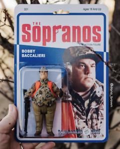 Bobby Bacala Custom Sopranos Action Figure By Dano Brown