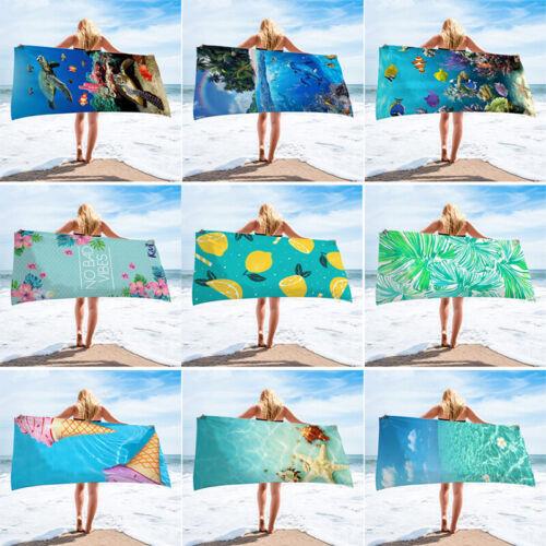 1Pcs Quicky-dry Microfiber Beach Towels Yoga Mat Sand Beach Towel Mats 75*150 cm