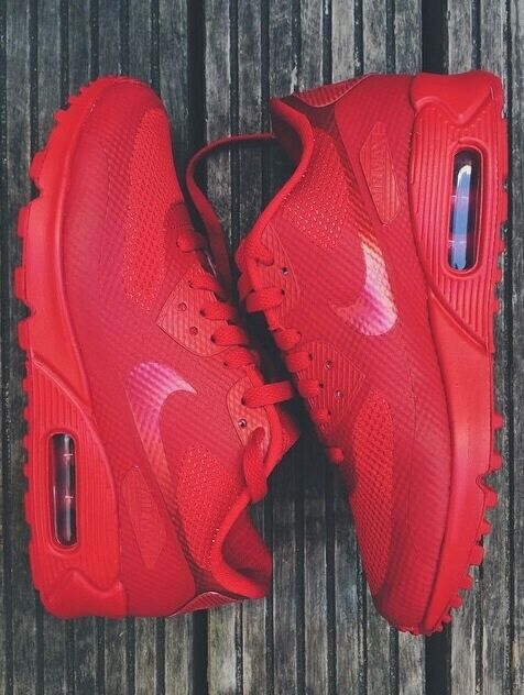 fc6530c8a5 Nike Air Max 90 Hyperfuse Premium Sport Red Gym Red USA Yeezy ALL SIZES