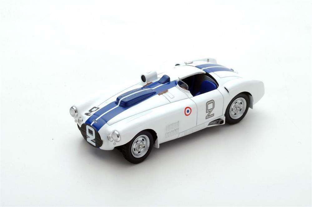 Cunningham C4-r Nr. 2 3. Le Mans 1954 in 1 43 Maßstab von Spark