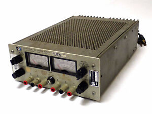 HP 6205B DUAL OUTPUT DC POWER SUPPLY 0-40V .3A / 0-20V .6A TESTED & WORKING!