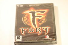 FURY ON LINE PC GAME CD-Rom WIN/XP VISTA/WIN 7   BY CODEMASTERS 2007
