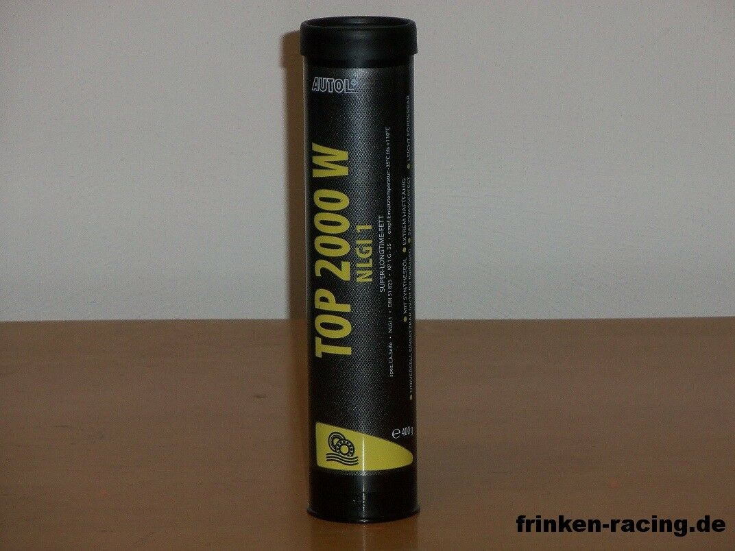/kg Autol Longtime TOP 2000 W 10 x 400gr seewasserBesteändiges Super Longtime Autol Fett c48acc