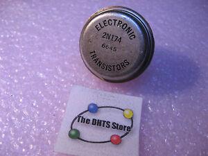 2N174-Electronic-Transistors-Germanium-Ge-PNP-Power-Trans-NOS-Vintage-Qty-1
