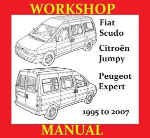 citroen jumpy van minibus 1995 u003e2007 service workshop repair manual rh m ebay co uk Jumpy Horse Jumpy the Word