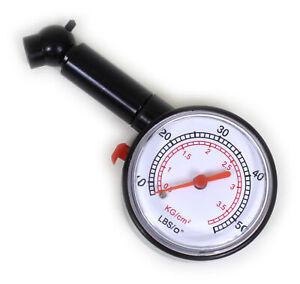 Reifendruckmesser-Auto-KFZ-Reifendruckpruefer-Luftdruckpruefer-Manometer-Ventile