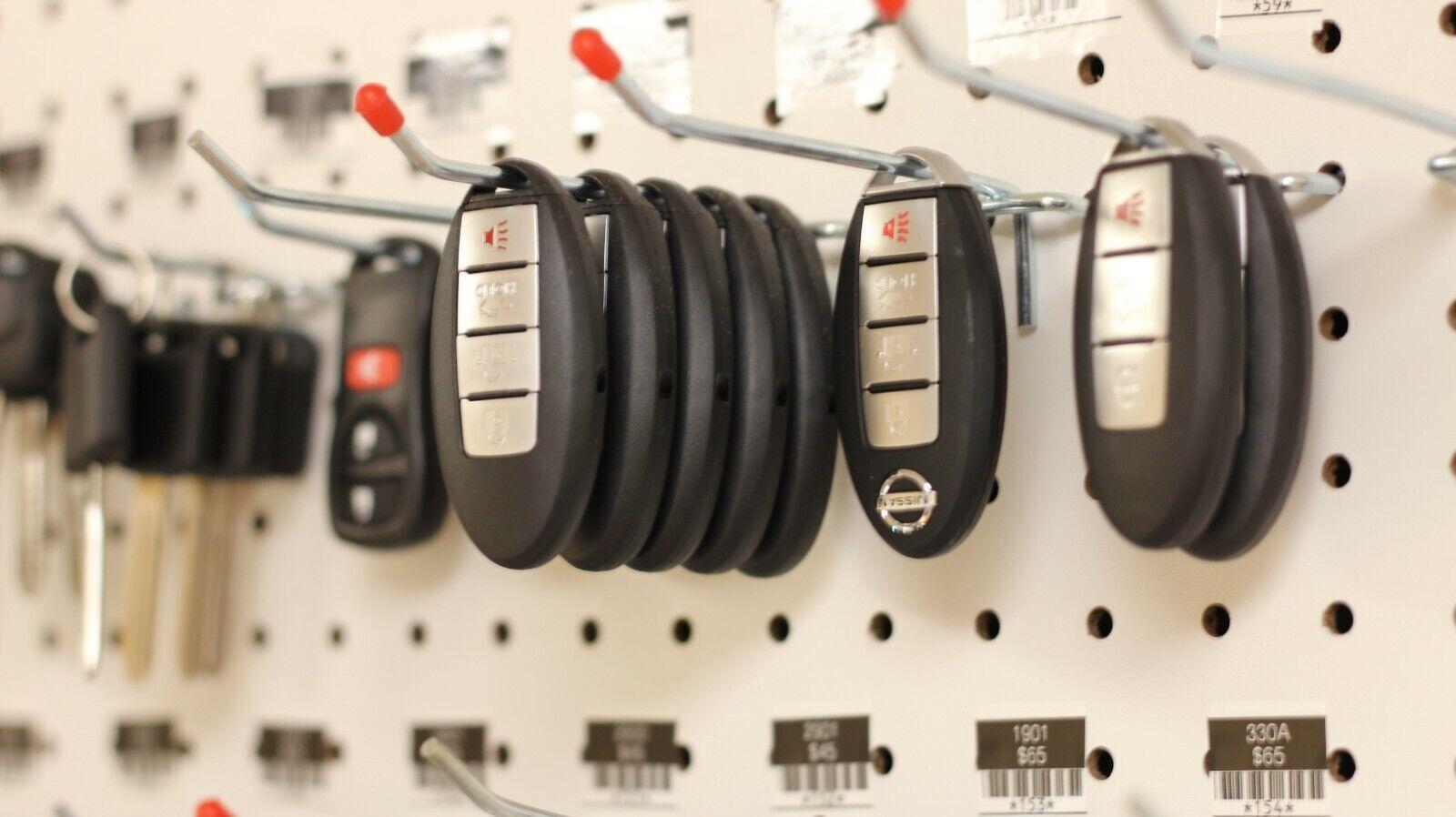Licensed Locksmith. 1121-1160 keys for Trimark RV Camper locks key cut to code