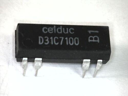 D31C7100 Reed-Relais Relay 24V= 1xUM Wechsler1FormC 30V=//250mA//3VA