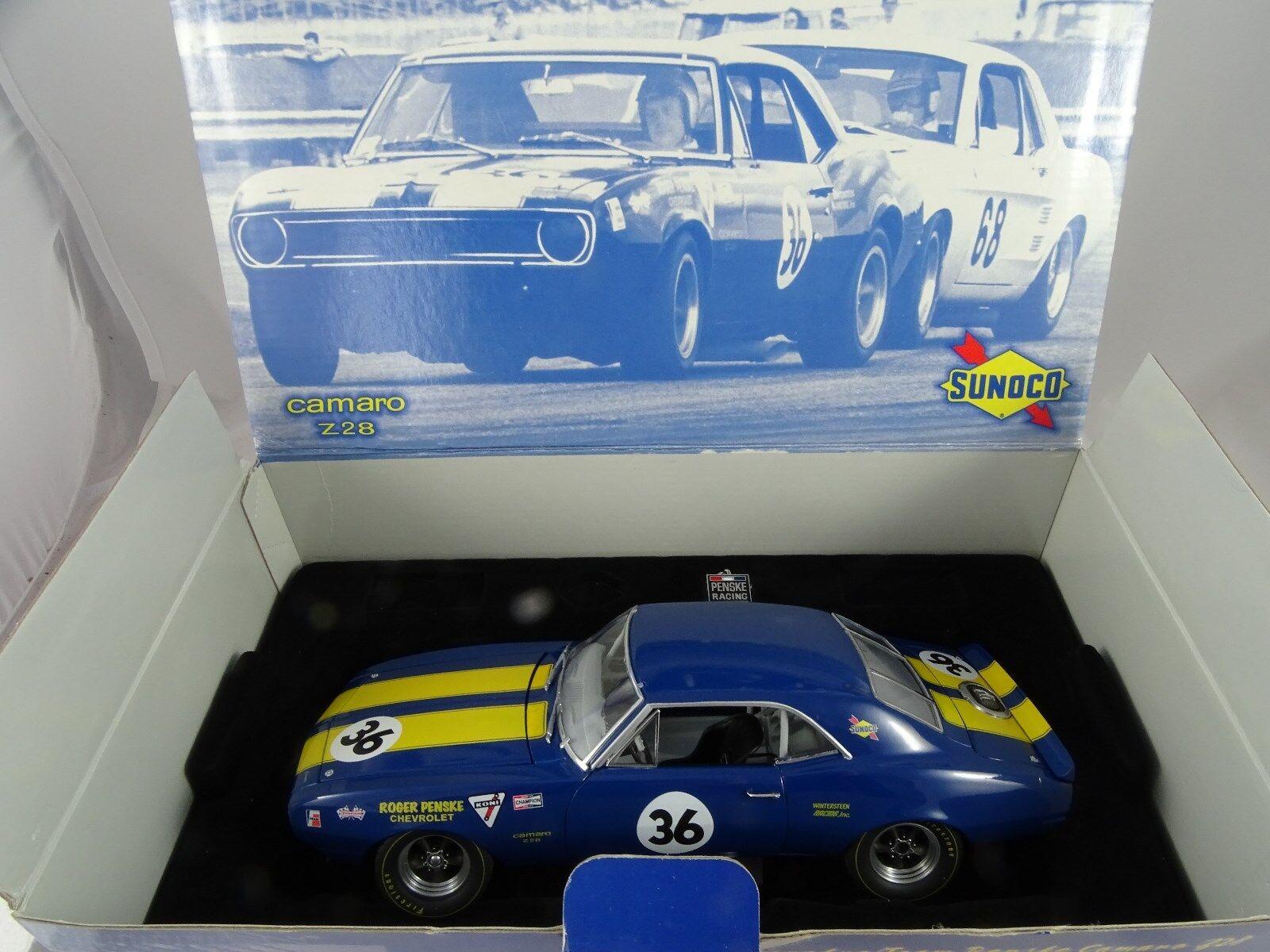 migliore qualità 1 18 GMP GMP GMP 1967 Mark Donohue squadra Penske Camaro 328  36 Lmtd. ed. blu-rarità §  ultimi stili