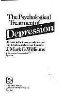 The Psychological Treatment of Depression, Williams, Good Book