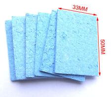 20 Pcs Soldering Solder Tip Welding Absorbent Cleaning Sponge Clean Water