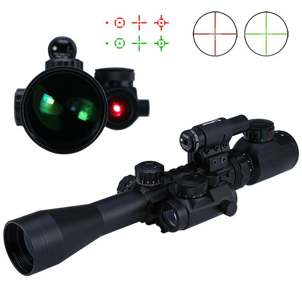 Hunting 3-9X40EG ZOOM Riflescope Grün/ROT Grün/ROT Riflescope Illuminated Optics Sniper Sight Scope 7edd2b