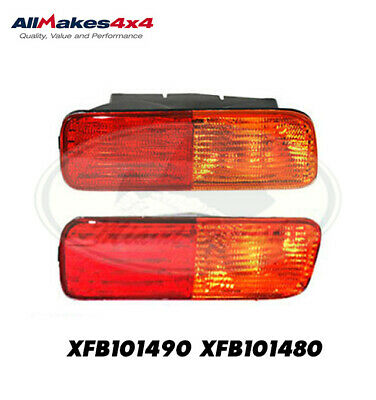 PASSENGER SIDE REAR BUMPER LAMP # XFB101480 LAND ROVER DISCOVERY 2 99-02  RH