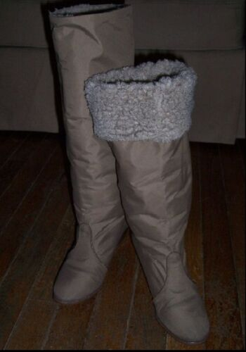 Vintage 1970s Golo Boot Sz 5 - Taupe with Sherpa L