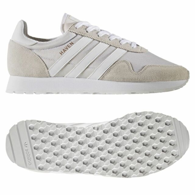 116748f3a821 adidas ORIGINALS MEN S HAVEN TRAINERS SNEAKERS RETRO VINTAGE COMFY RUNNING  NEW