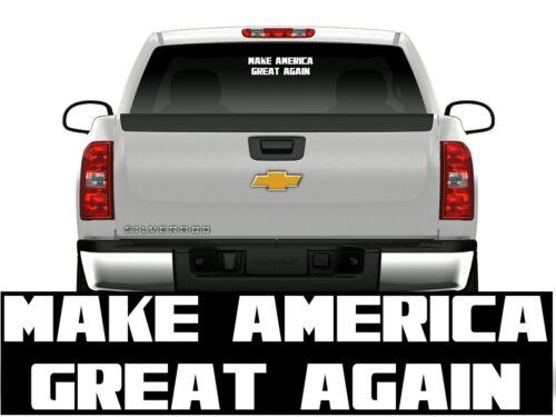 """Make America Great Again Decal Donald Trump 2020 Republican  3/""""x9/"""""""