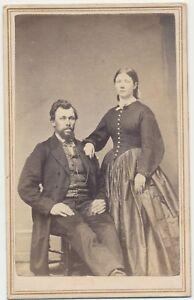 1860s-CDV-Photo-Bearded-Man-amp-Wife-Civil-War-Tax-Revenue-Stamp-Columbus-Ohio-69