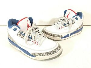 4223079c68c6 Nike Air Jordan 3 III Retro OG White Fire Red True Blue 854262-106 ...