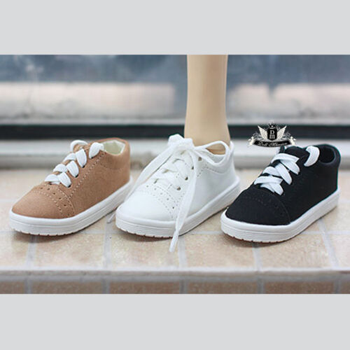 1//4 BJD Shoes MSD Dollfie Yellow Nubuck leather Shoes Sneaker DOD AOD SOOM MID
