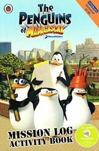 Ladybird-Penguins-of-Madagascar-Mission-Book-Very-Good-Paperback