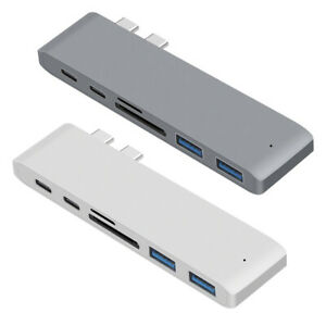 Dual-Type-C-Hub-2-Ports-USB-3-0-TF-Card-Reader-Adapter-for-MacBook-Pro-Air