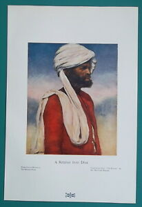 INDIA-Man-from-Dhai-at-Prince-039-s-Reception-1904-COLOR-Art-Nouveu-Era-Print