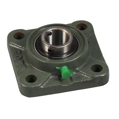 Premium UCFL206-20 double seals ABEC3 oval flange bearings 1-1//4 bore UCFL206 20