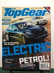 BBC Top Gear Electric Beats Petrol Tesla Model 3 BMW May ...