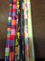2 Rolls Gift Wrap Wrapping Paper Birthday Baby Shower Wedding Christmas Holiday