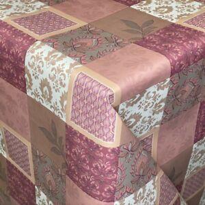 Panno cera tovaglia ornamenti Patchwork 06175-03 Rettangolare Rotonda Ovale