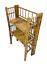 Small-Oriental-Antique-Bamboo-folding-shelves-bookcase-2388L thumbnail 1