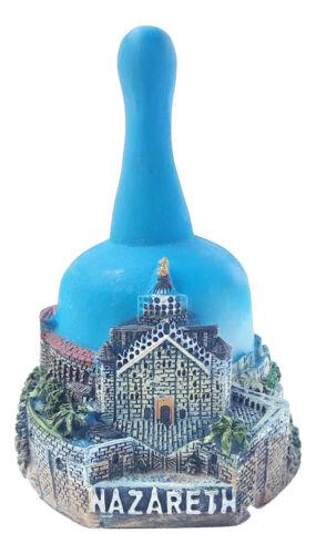 New souvenir Bell from Israel Palestine holy land Ceramic Nazareth