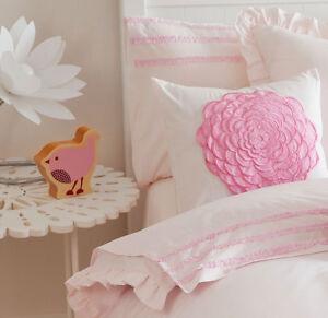 Floret-Pink-Bedding-Sheet-Set-Sheets-Girls-Kids-Floral-Flowers-Luxury
