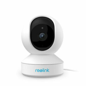 Reolink HD 5MP WiFi-Kamera PTZ Home Überwachung Baby/Haustier Monitor E1 Zoom