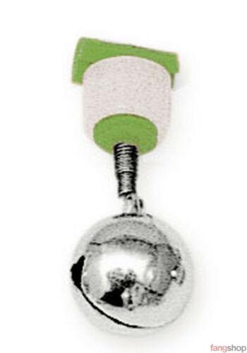 5er Pack Lineaeffe AALGLOCKE fluoreszierend Bissanzeiger Schraubhalter 1 o 2 Glo
