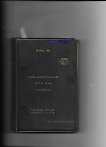 Signal-Communications-in-the-Army-Volume-III-loose-leaf-Army-Code-No-70026