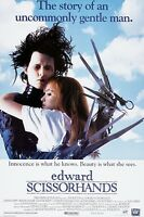 Edward Scissorhands Johnny Depp International Original 27x40 Movie Poster 1990
