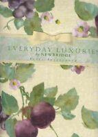 Fresco Fruit Vinyl Tablecloth 60x84 Oval