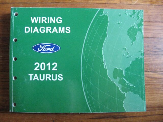 2012 Ford Taurus Electrical Wiring Diagram Service Shop