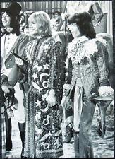 THE ROLLING STONES POSTER PAGE 1968 MICK JAGGER & BRIAN JONES & BILL WYMAN