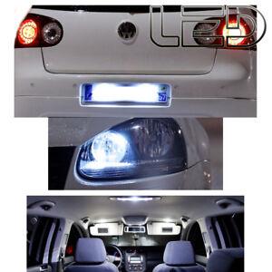 KIT-Pack-16-Ampoules-LED-Blanc-Pour-GOLF-5-V-anti-erreur-ODB-plaque-Plafonnier