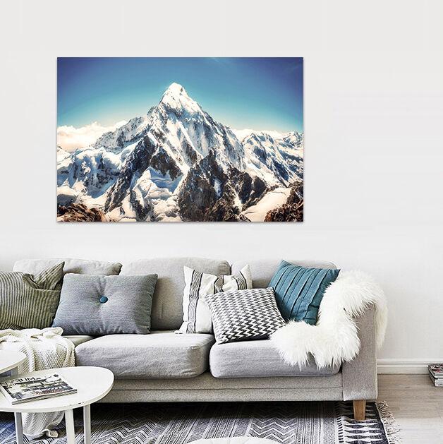 3D Weißer Schnee Bergspitze 890 Fototapeten Wandbild BildTapete AJSTORE DE Lemon | Attraktive Mode  | Große Auswahl  | eine breite Palette von Produkten