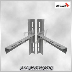 Image Is Loading Stramit Double Roller Door Mounting Brackets Set Garage
