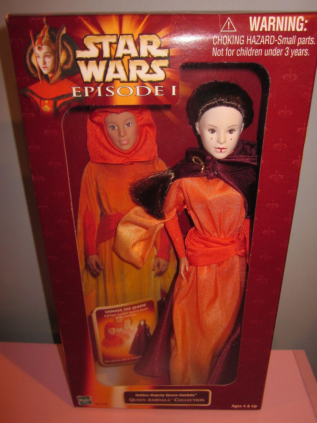 Hasbro Star Wars Episodi 1 30.5cm Nascosto Majesty Regina Amidala Sigillato