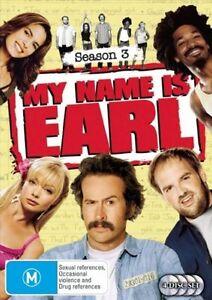My-Name-Is-Earl-Season-3-DVD-2008-4-Disc-Set-n235-Ex-Rental