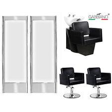 Friseureinrichtung komplett Friseurstuhl Waschsessel Spiegel 422s