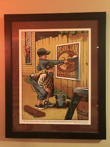 Pearl-Jam-Hartford-Poster-Framed-Justin-Hampton-Rare