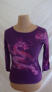 T-shirt-Comptoir-Des-Cotonniers-Violet-Taille-S-a-52
